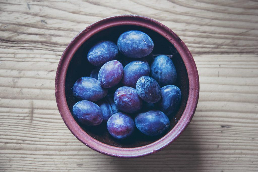 high-angle-view-of-fruit-bowl-on-table-248440